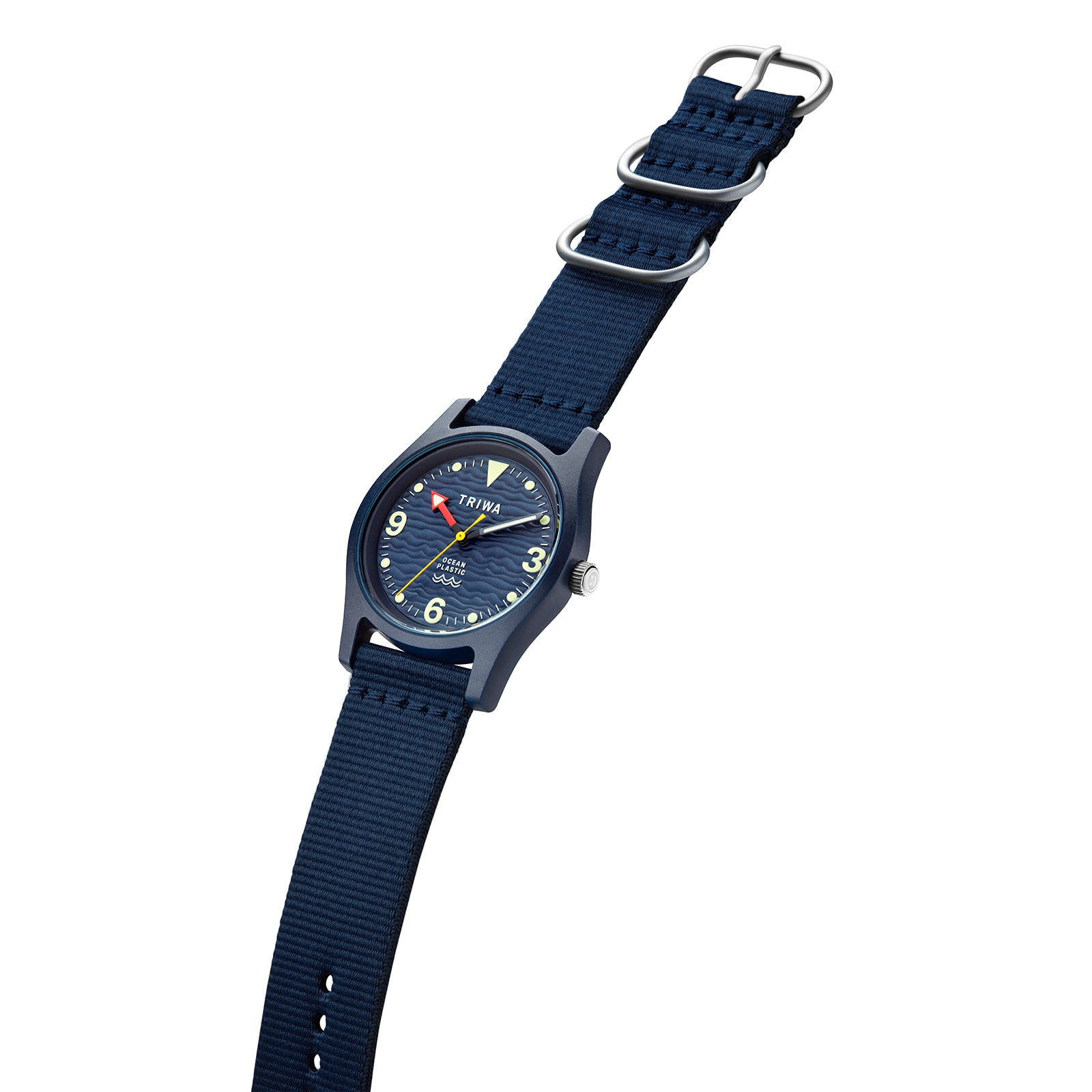 Triwa 'Time for Oceans' Wrist Watch - Recycled Ocean Plastic - Deep Blue