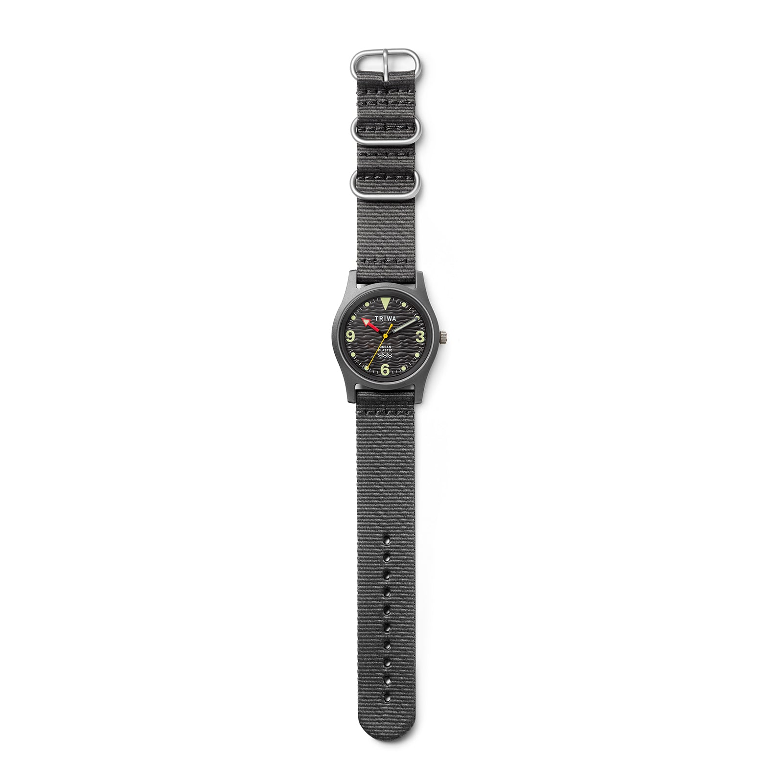 Triwa 'Time for Oceans' Wrist Watch - Recycled Ocean Plastic - Seal