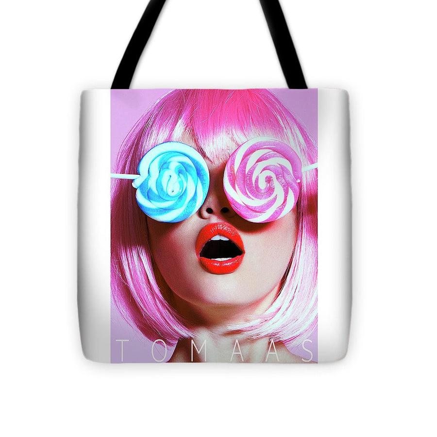 Candy Warhol By TOMAAS - Tote Bag