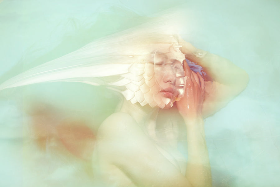 Fashion & Art photography prints for sale - Just Close Your Eyes - By TOMAAS
