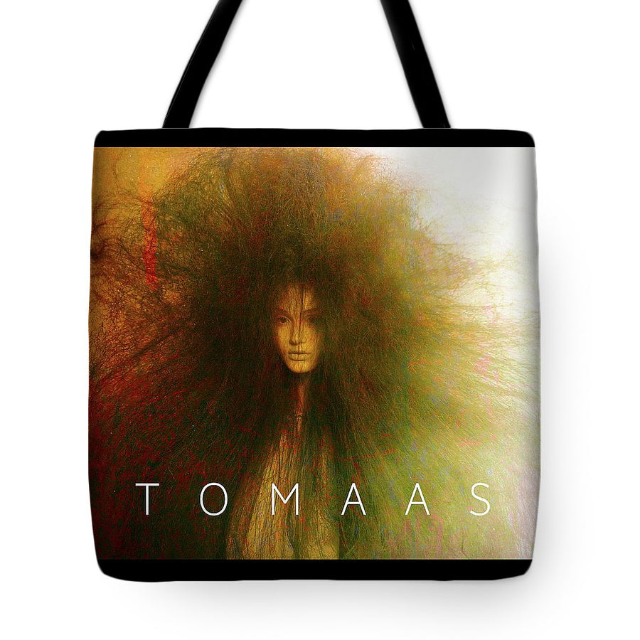 Long Hair Child By TOMAAS - Tote Bag
