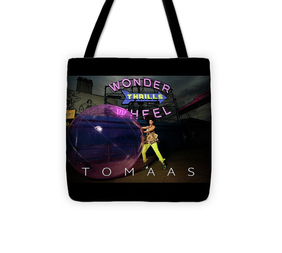 Welcome To Wonderland By TOMAAS - Tote Bag