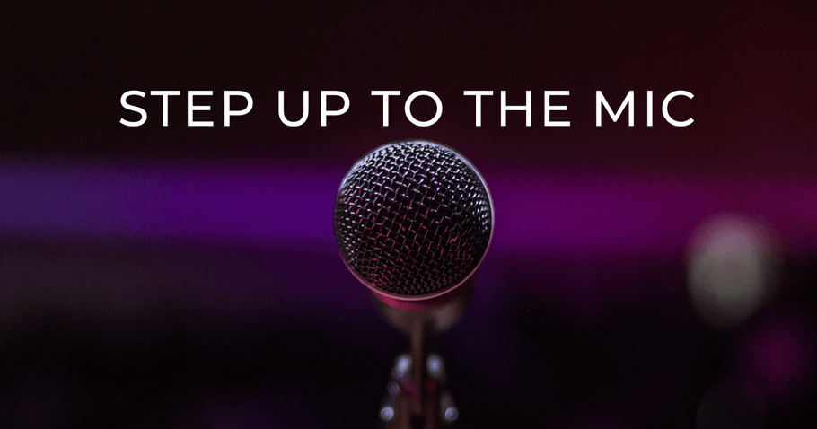 Step Up to the Mic for TC Awareness Month