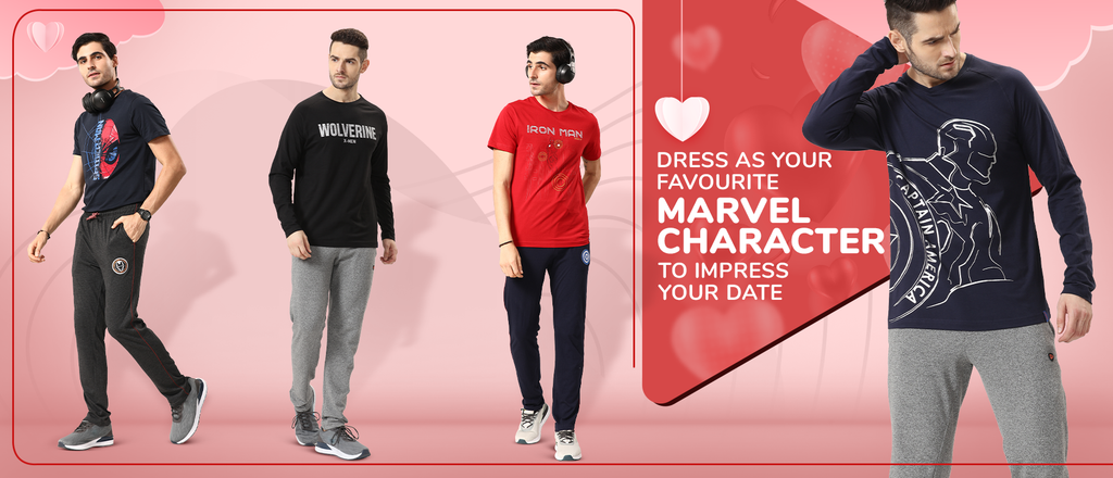 Dress as your favourite marvel character to impress your date