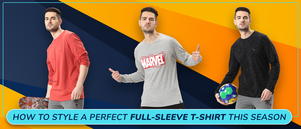 How to style a perfect full-sleeve t-shirt this season