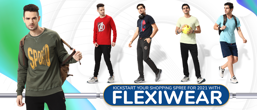 Kickstart your shopping spree for 2021 with flexiwear