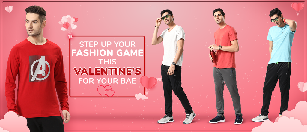 Step up your fashion game this Valentine's for your bae
