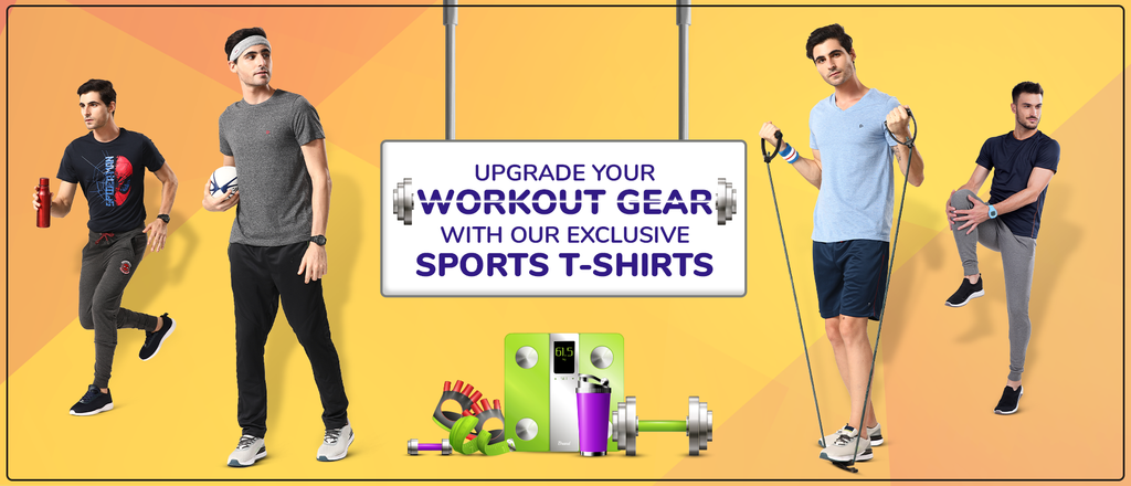 Upgrade your workout gear with our exclusive sports collection