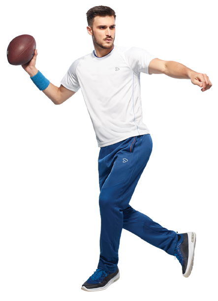 Buy Men's Athletic Sports Jersey In White Colour Online