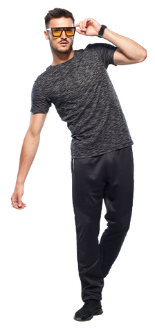 Buy Track Pants For Men In Black Colour Online