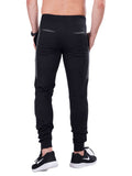 Buy Black Joggers With Stylish Print For Men Online