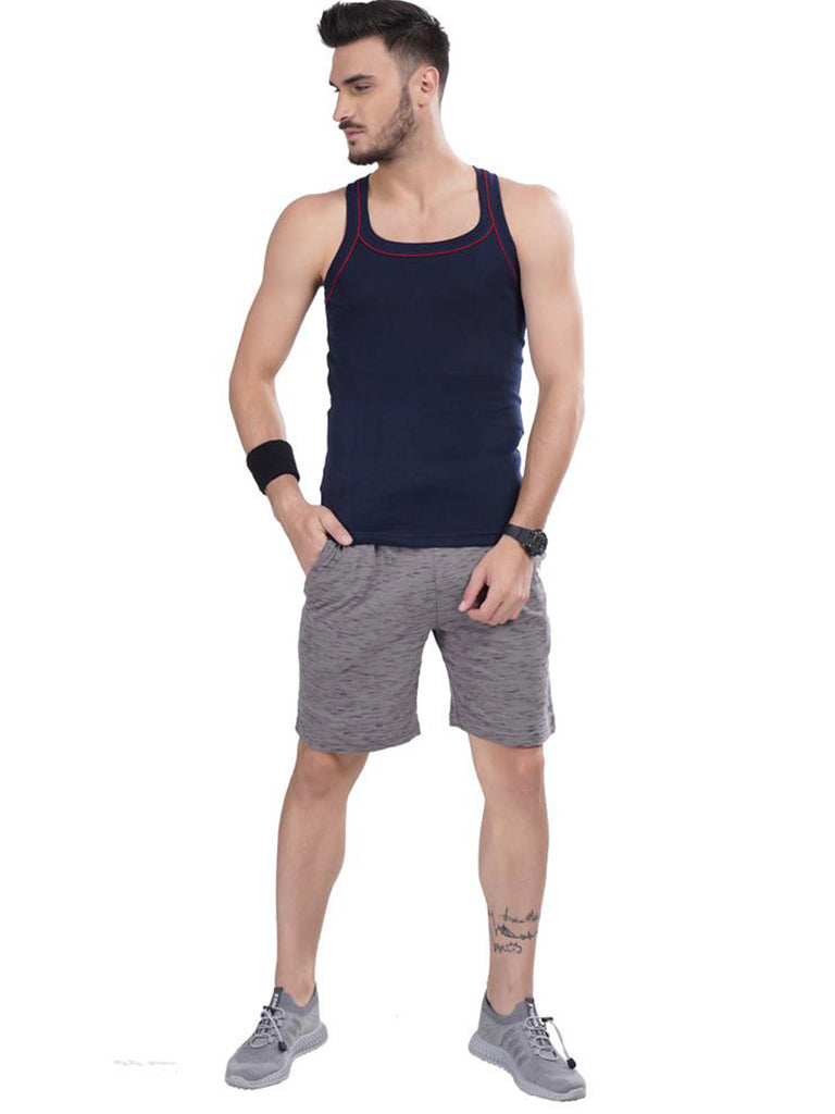Men's Gym Vest- Black