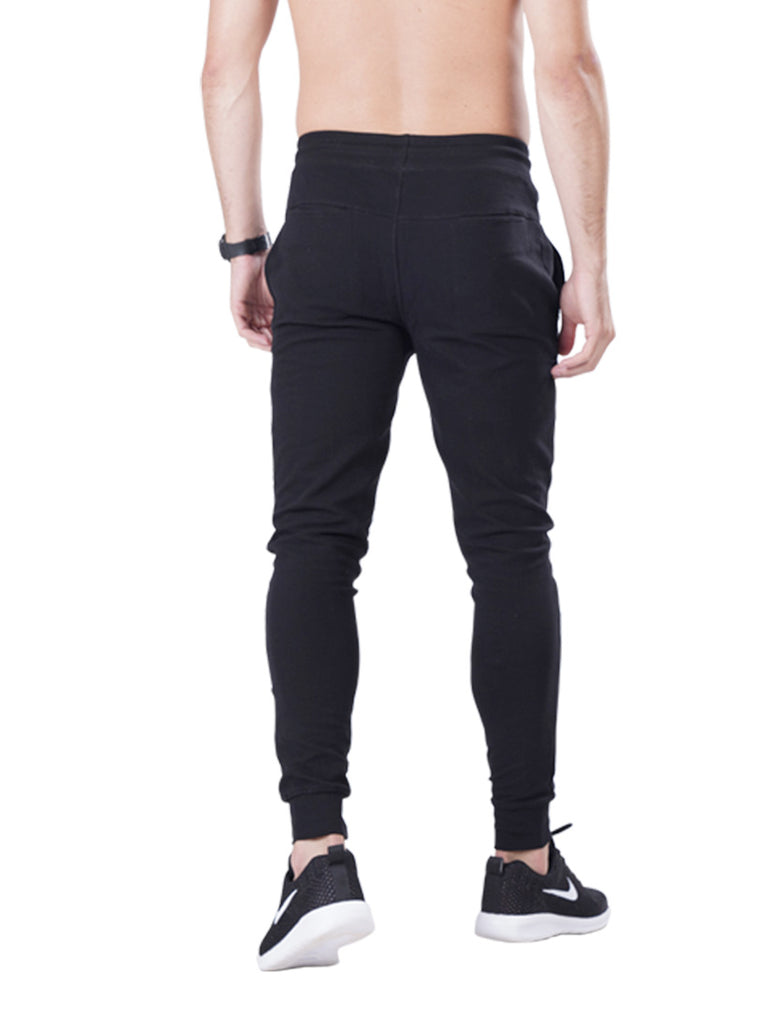 Buy Black Slim Fit joggers For Men Online