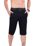 Dark Grey Stylish Mens Capri