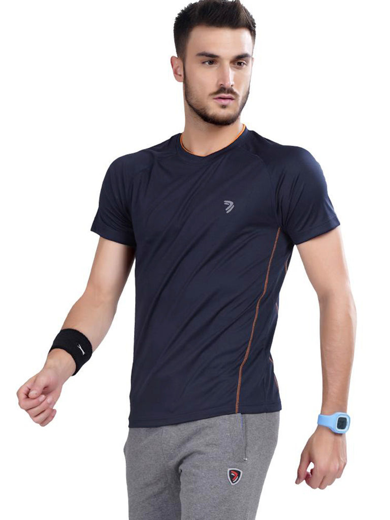 Contrast Athletic Jersey- Blue