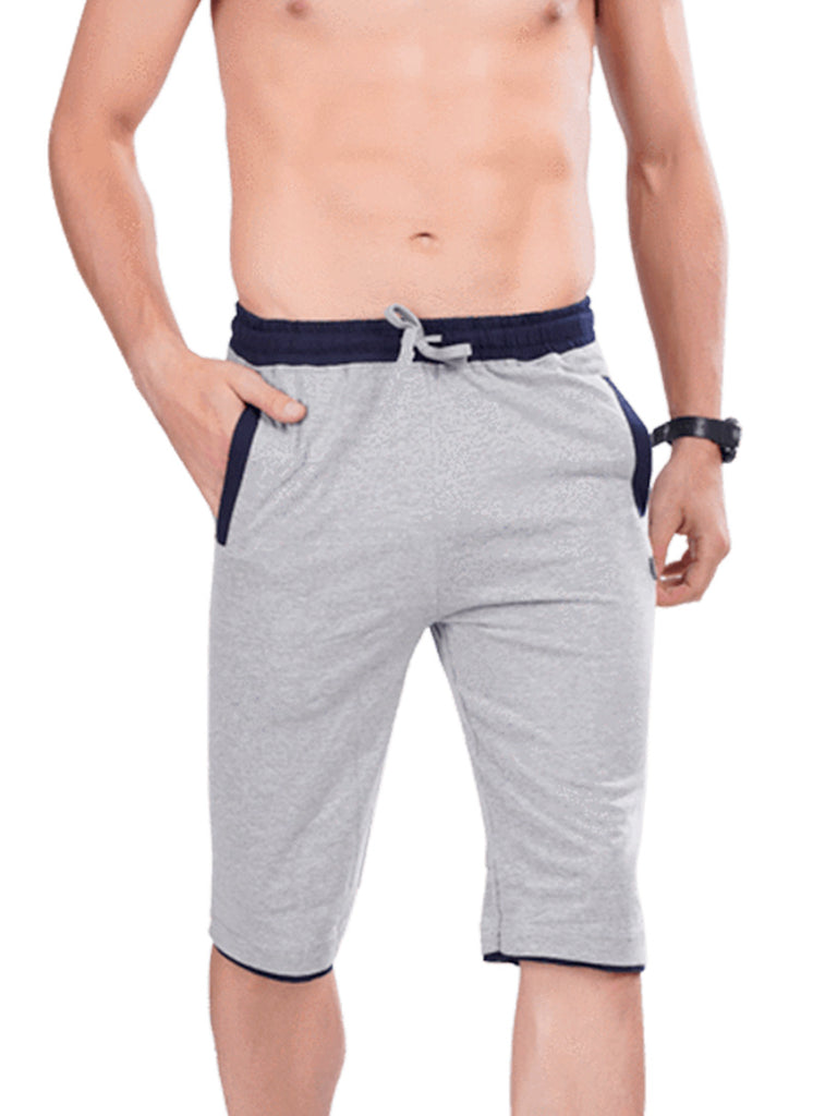 Slate Grey Stylish Mens Capri