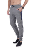 Joggers With Stylish Print - Black