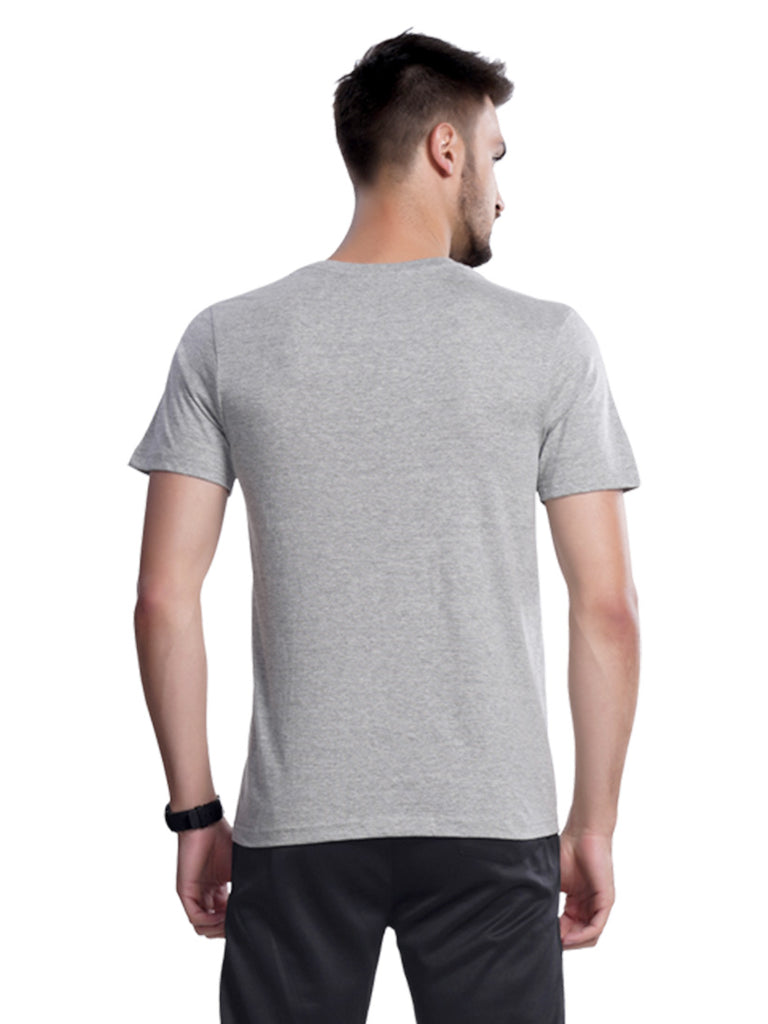 Printed Tshirt for Men-Black