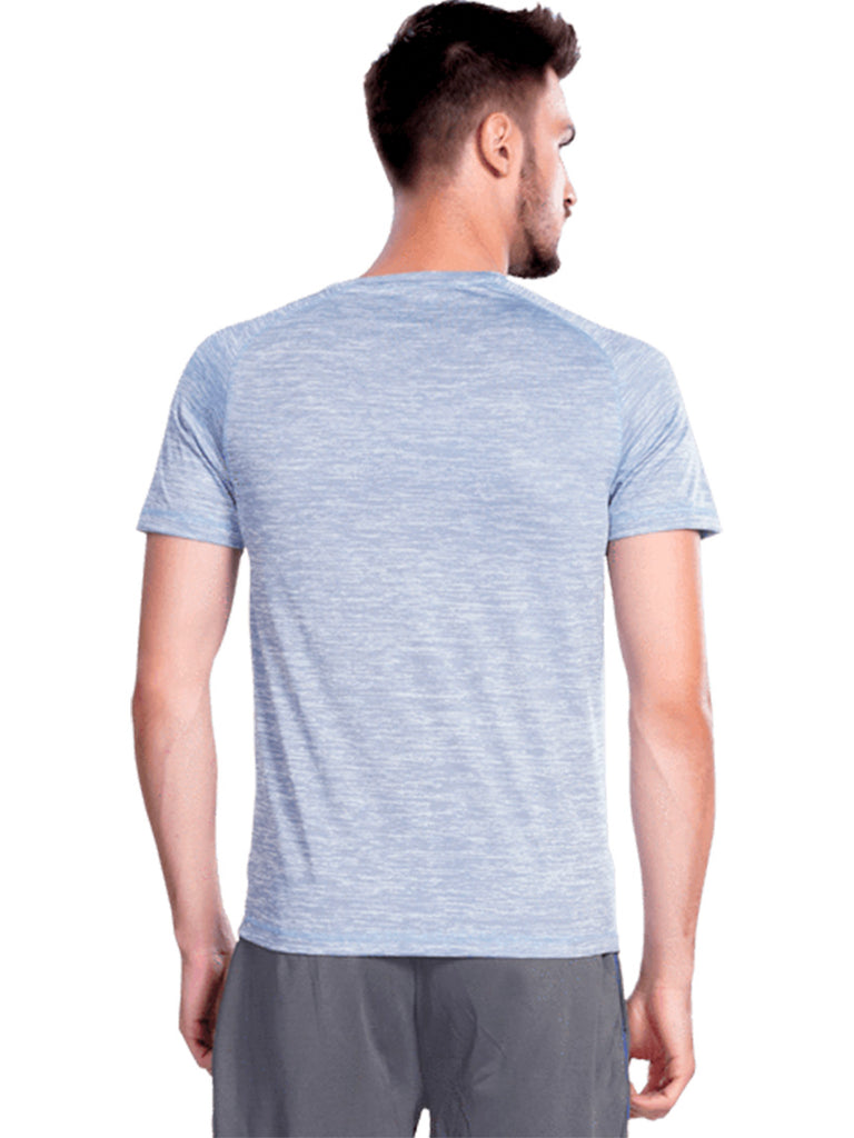 Buy Blue Round Neck Sports Jersey Online In India