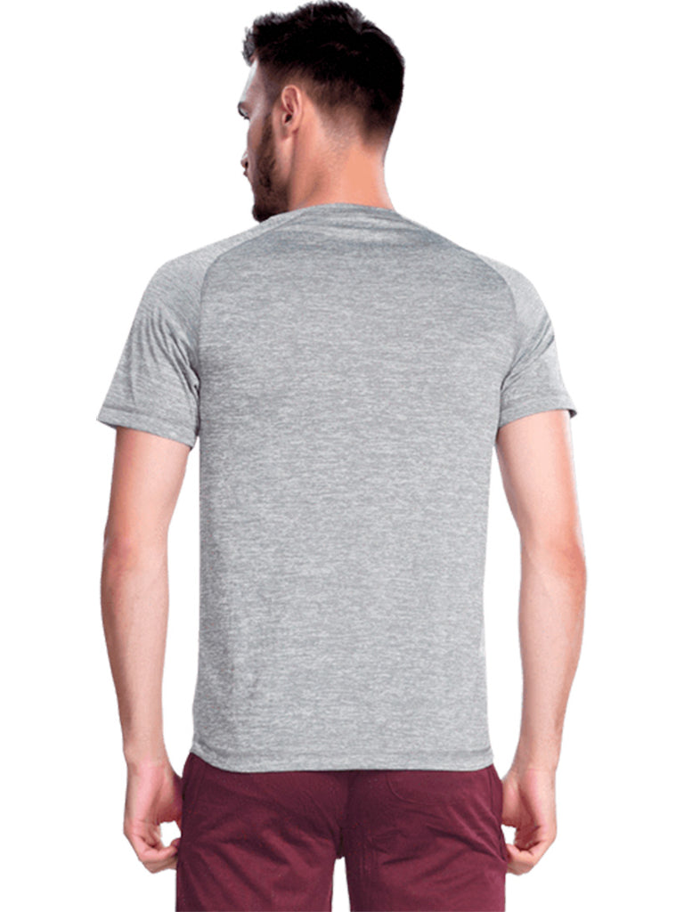 Buy Grey Round Neck Sports Jersey Online In India