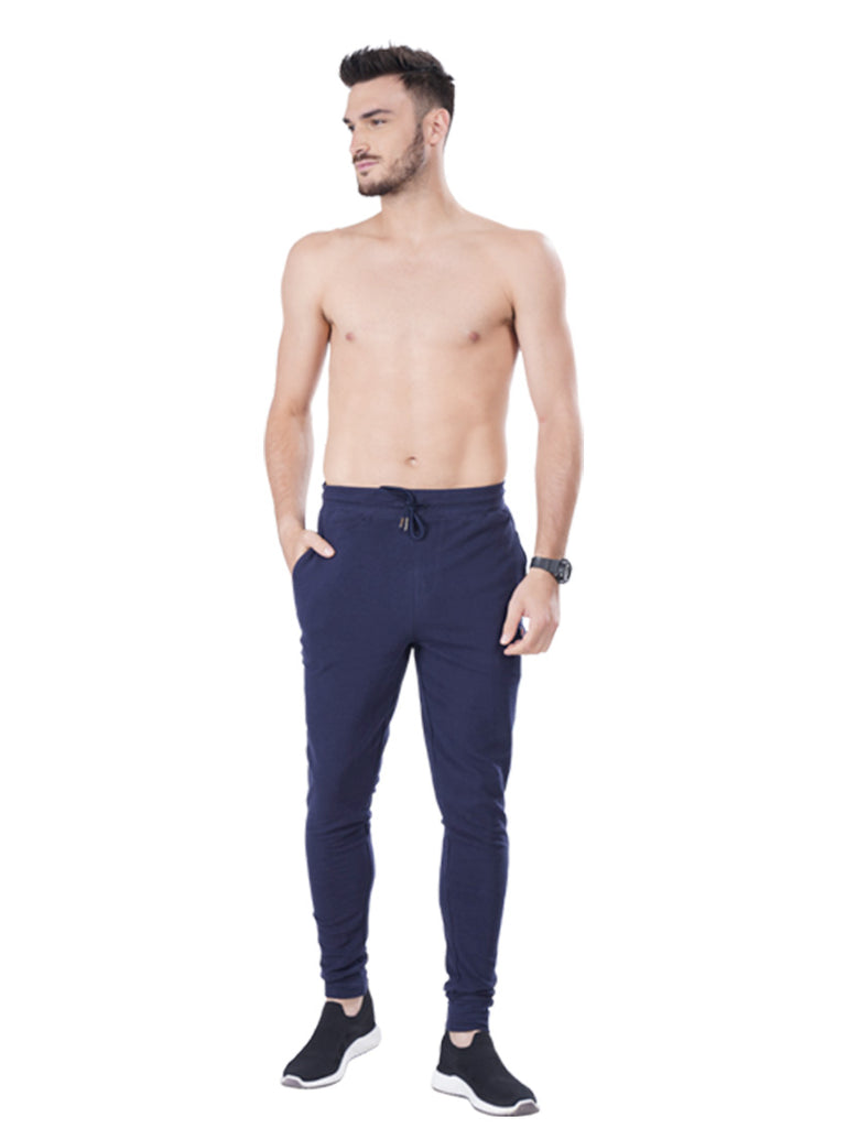 Slim Fit Joggers- Black