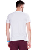 Solid Round Neck T-Shirts- Maroon