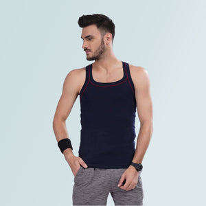 Men's Gym Vest- Navy