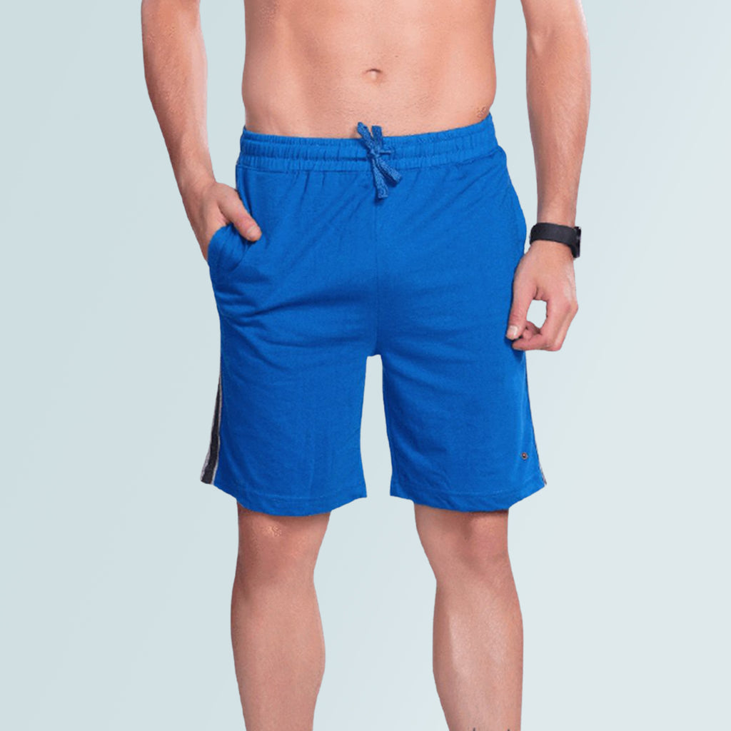 Men Sports Shorts- Blue