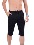 Capri pants for Men- Dark Grey