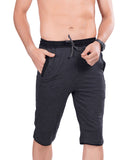 Grey Stylish Mens Capri
