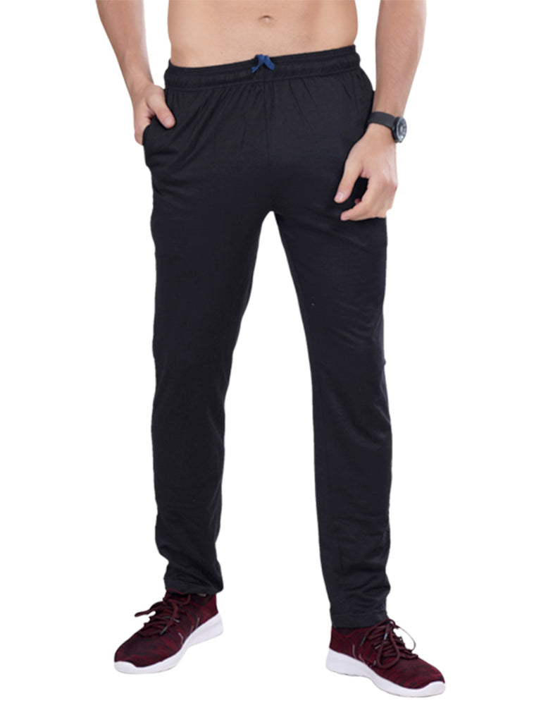 Slim Fit Track Pants - Slate Gray Red