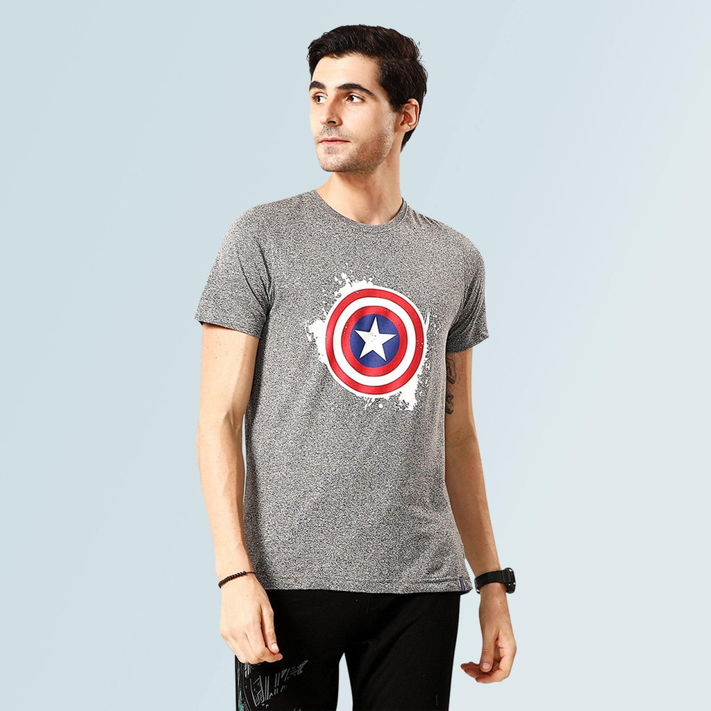 Captain America T-shirt - Grey