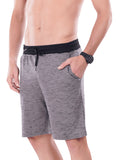 Men's Shorts With Broad Waist Band- Maroon