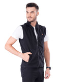 Sleeveless Jacket- Slate Gray