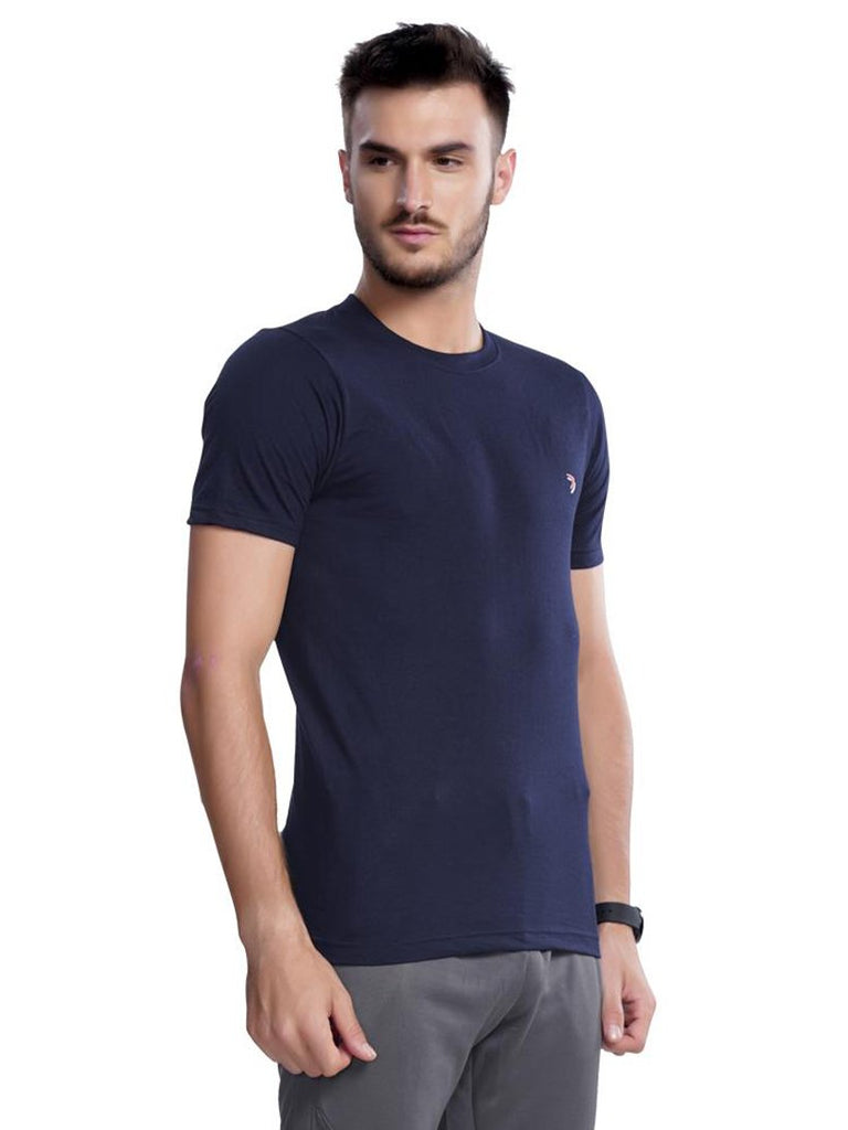 Round Neck Tshirts for Men- Maroon