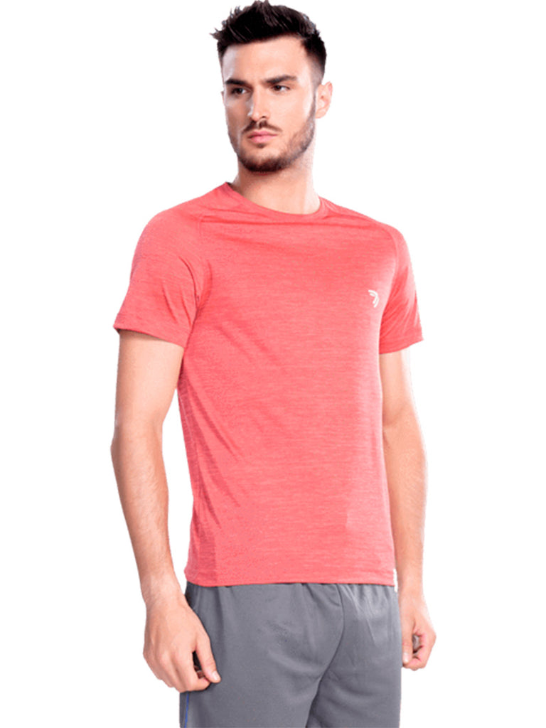 Round Neck Athletic Jersey- Grey