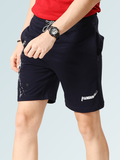 Captain America Shorts for Men - Navy Blue
