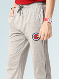 Spider Man Cotton Track Pants - Grey