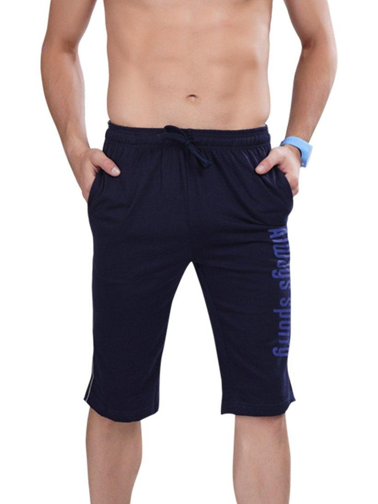 Men's Capri- Blue