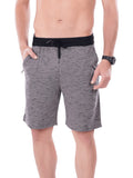 Men's Shorts With Broad Waist Band-Maroon