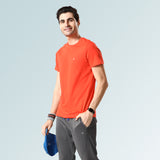 Round Neck Tshirts for Men- Olive