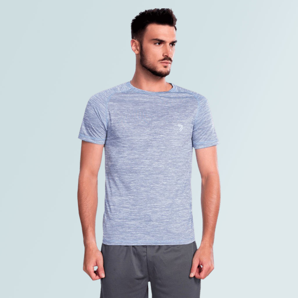 Men's Jersey T-Shirt- Blue