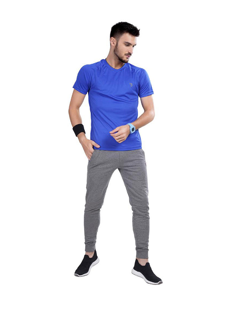 Buy Blue Contrast Sports Jersey Online In India