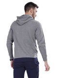 Buy Dark Grey Jacket With Hoodie  For Men Online In India