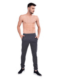 Buy dark grey Track Pants with Terry Knit fabric For Men Online