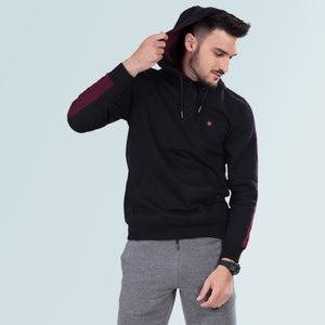 Hoodie Sweatshirt For Men - Black