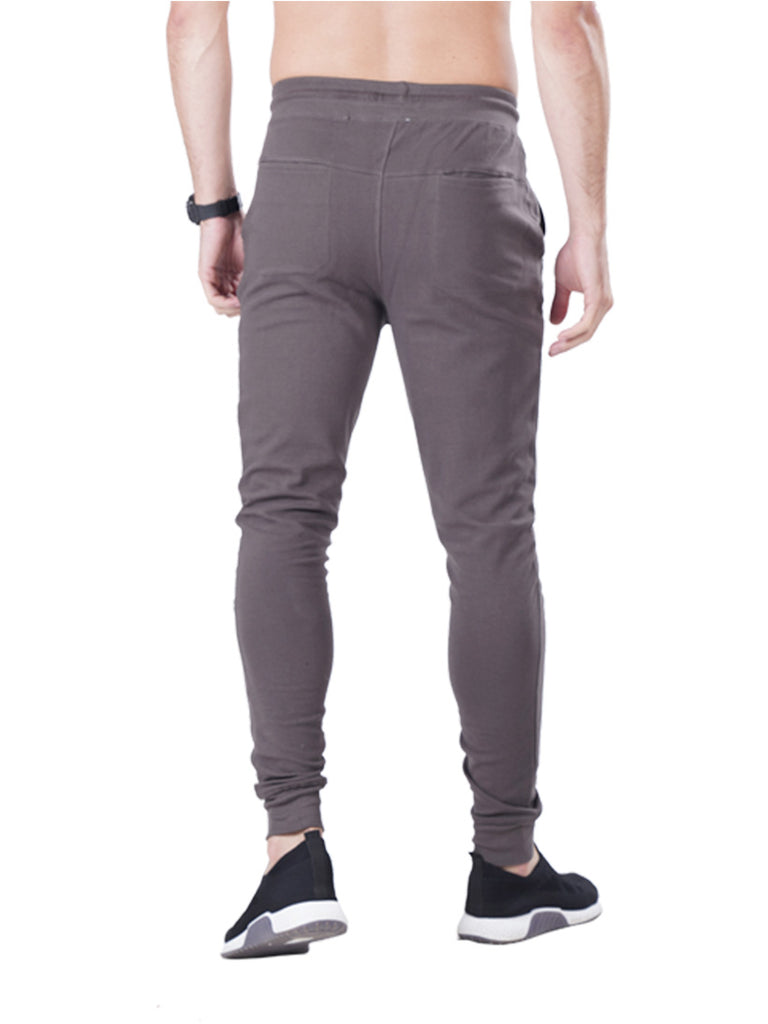 Buy Grey Slim Fit joggers For Men Online