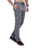 Slim Fit Track Pants - Navy Grey