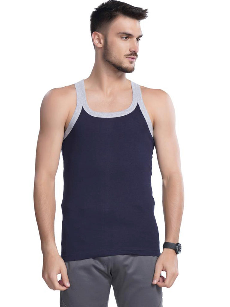 Gym Vest For Men - Black