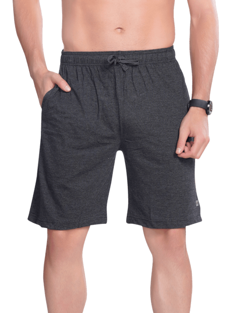 Men's Bermuda with Zipper pocket- Black